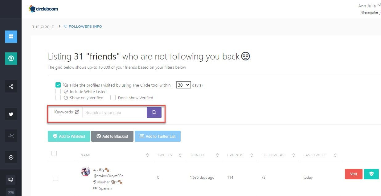 how to see who unfollowed you on Twitter