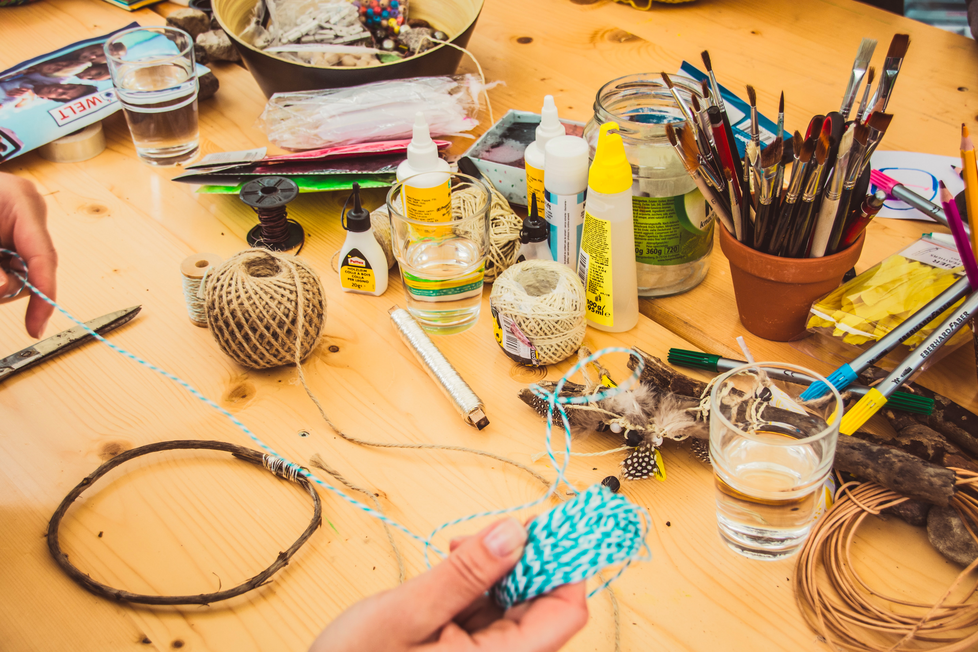 DIY projects as a me time activity can help you to take your mind off your work