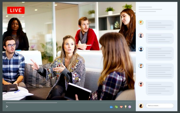 LinkedIn live videos generate 7 times more reactions and 24 times more engagement than the native video content
