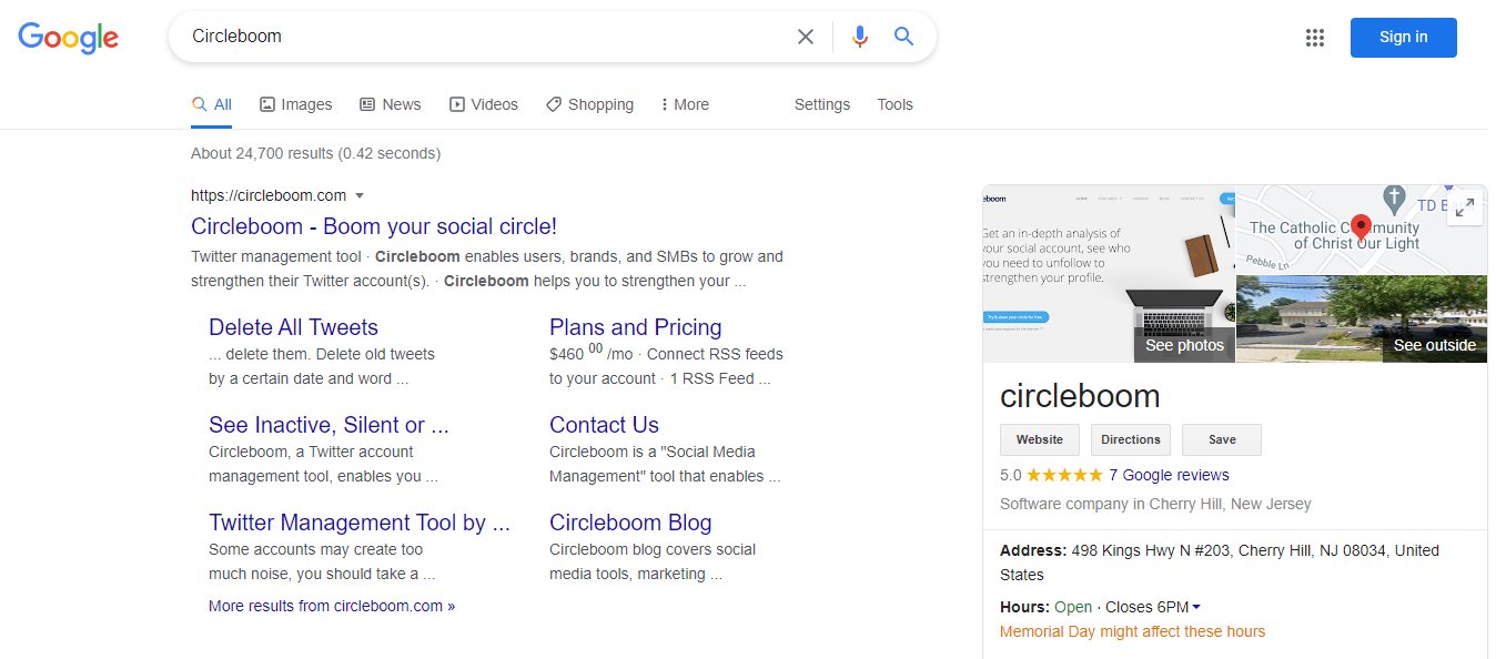 One proven way to be more visible in relevant searches is to have a detailed GMB listing.