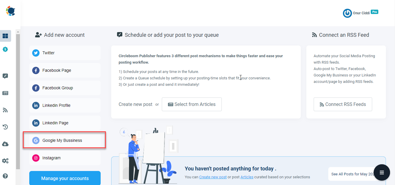 Circleboom Publish comes as the most intuitive social media scheduler on the web!