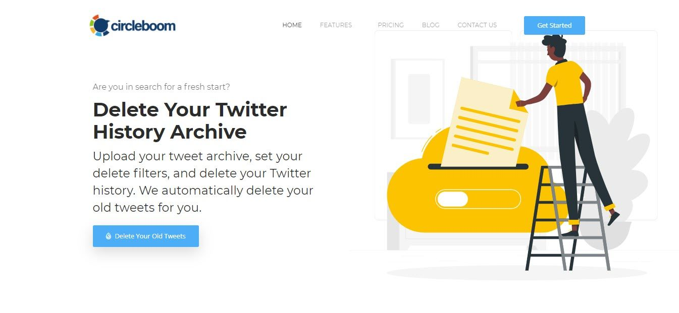 You don't need to create a new account for Circleboom; you can get started with your Twitter account.