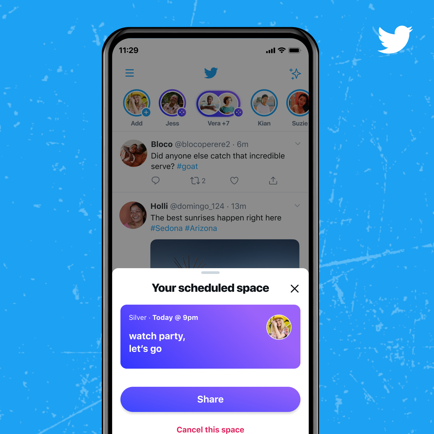 To catch up with our faves, the users will be able to schedule and set reminders for upcoming Twitter Spaces in the coming weeks.