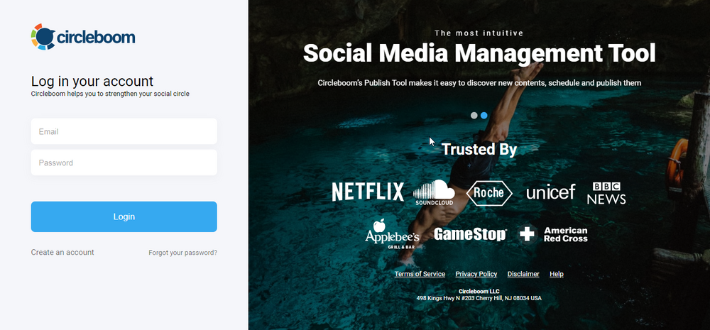 With Circleboom, you can manage multiple social media accounts on the same dashboard.