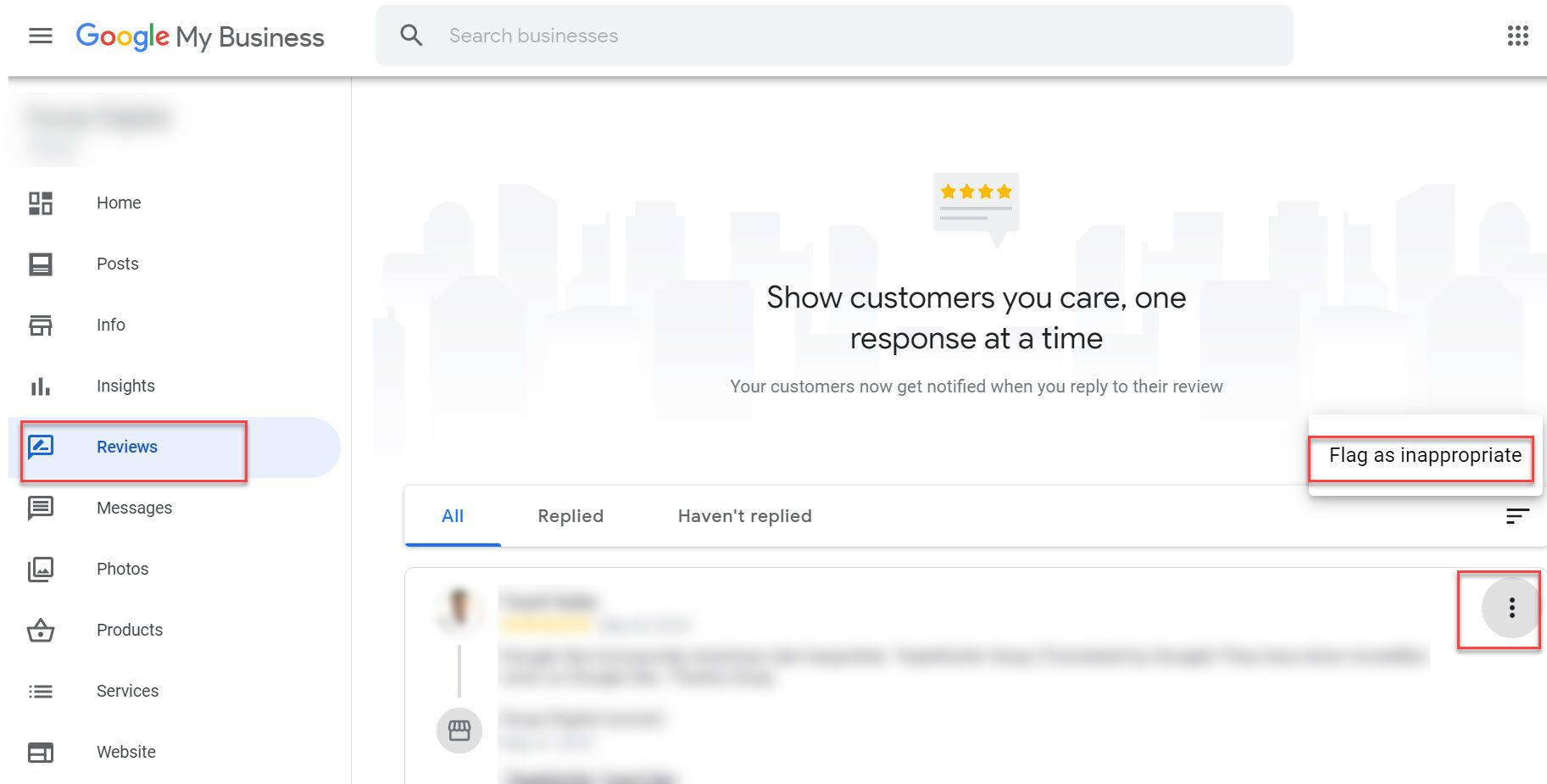 Flagging a Google review must be done when it is ultimately necessary not just to delete a Google review because you cannot take it.