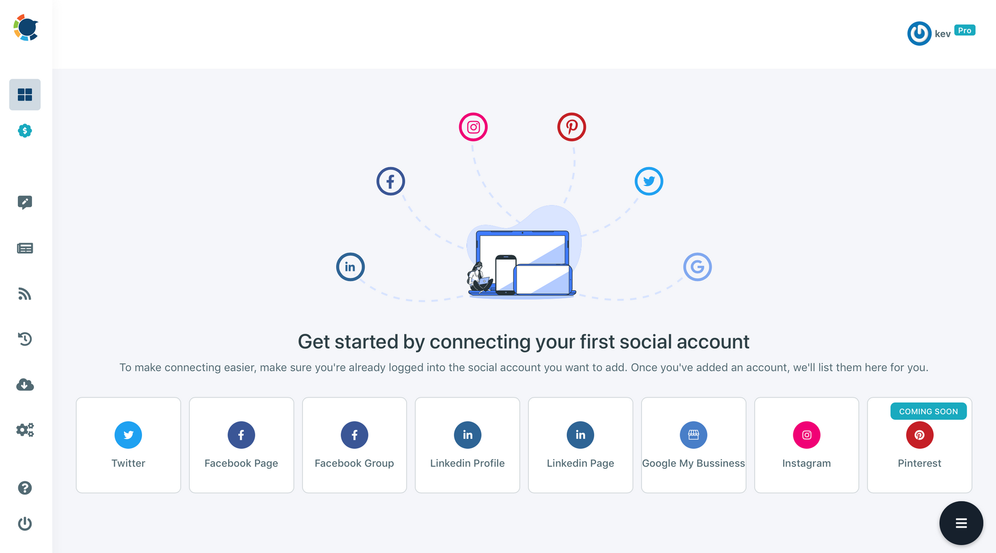 Manage multiple LinkedIn accounts with Circleboom easily!