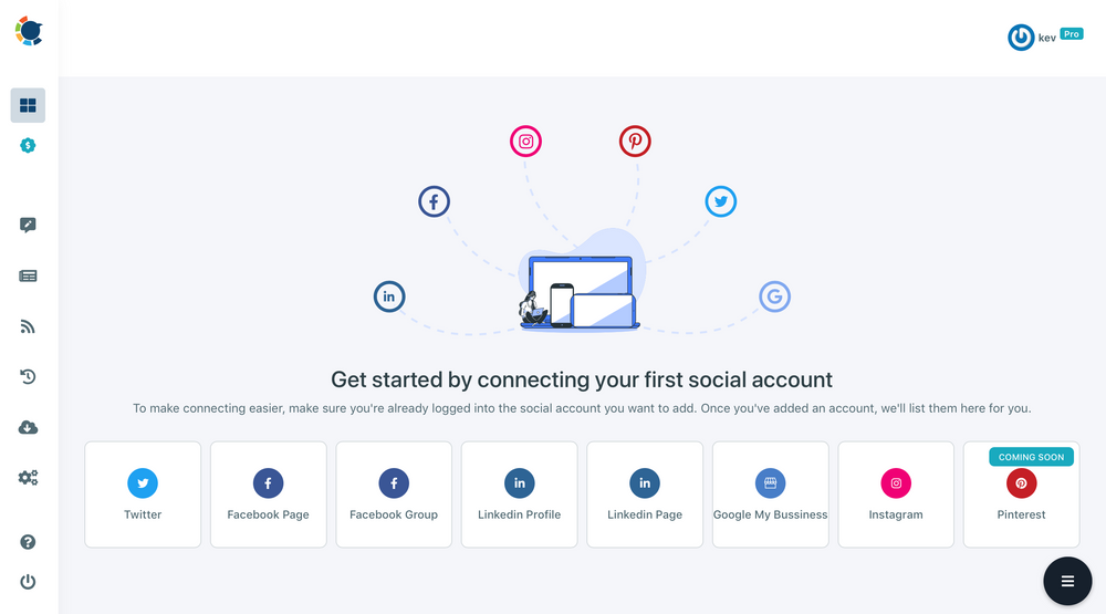 You can manage multiple LinkedIn accounts with Circleboom.