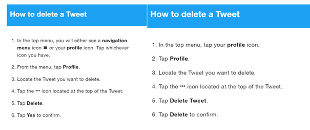 How to clear Twitter history