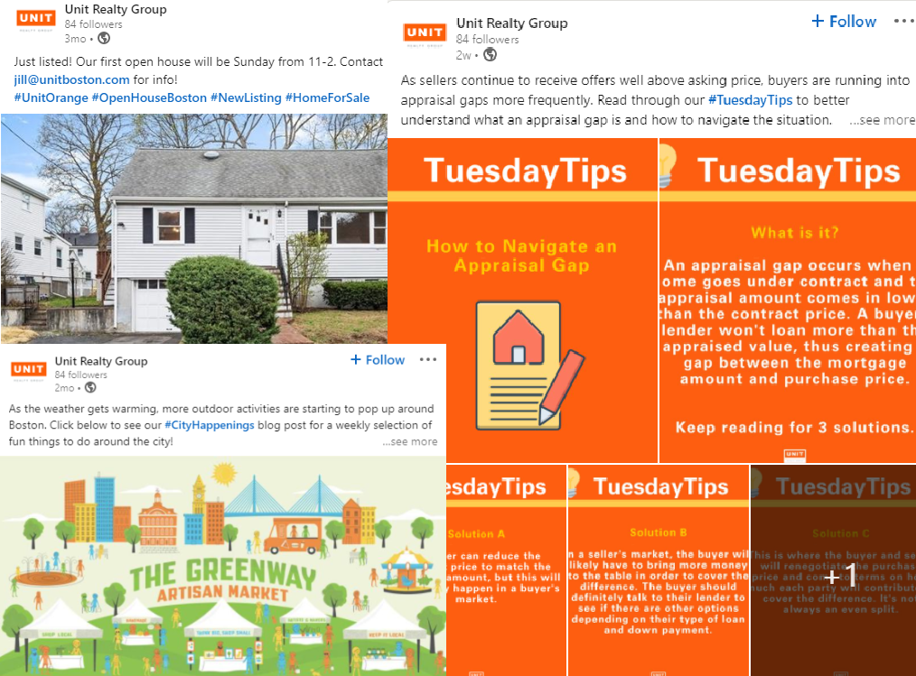 Steal our guide to real estate social media content planner!
