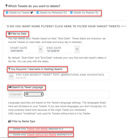 With Circleboom, how to delete Twitter History is not a problem at all!
