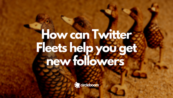 How can Twitter Fleets help you get new followers in 2021