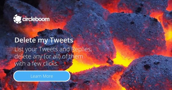 How to Delete Tweets within Seconds