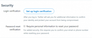 Twitter Phone Verification if I Lost/Cancelled my Phone Number