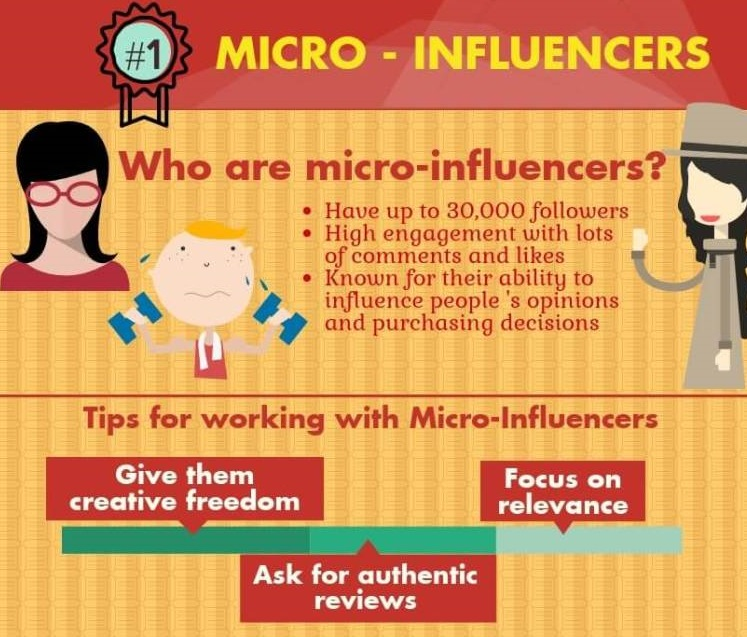find micro influencers