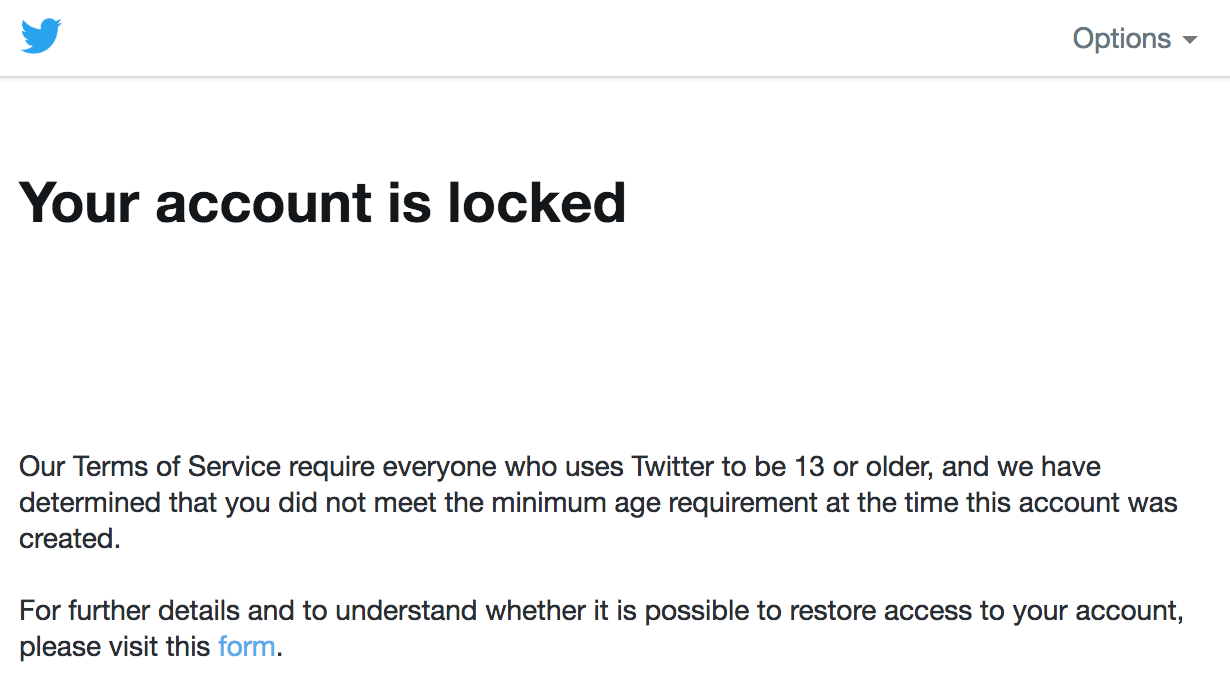 how to unlock your Twitter account